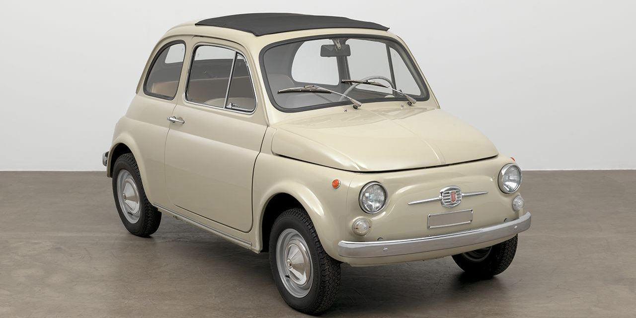Évènement : La Fiat 500 exposée au Museum of Modern Art (MoMA) de New York