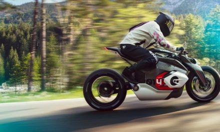 BMW Motorrad Vision DC Roadster : La moto électrique du futur