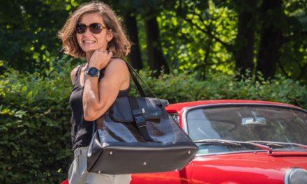 Entretien : Sandrine Dalzotto, créatrice de la marque de sacs à casque Dalzotto