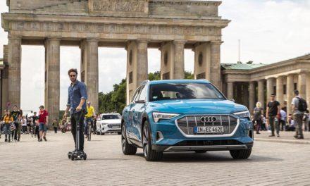 Audi E-Tron Scooter : entre skate et trottinette électrique