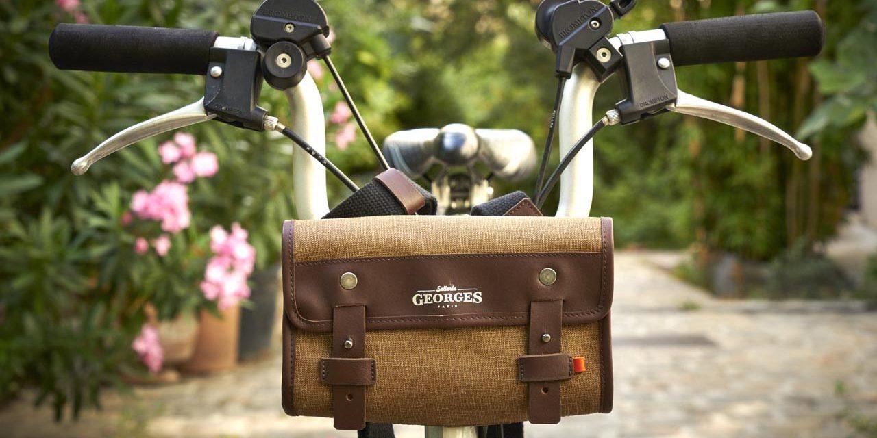 La Sellerie Georges : Des sacs étanches made in France pour le vélo