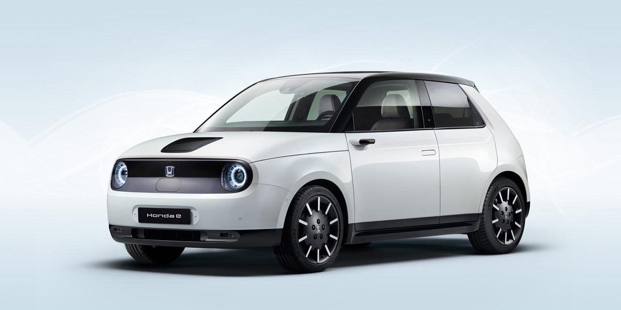 Voiture électrique : Premières images de la Honda e de série