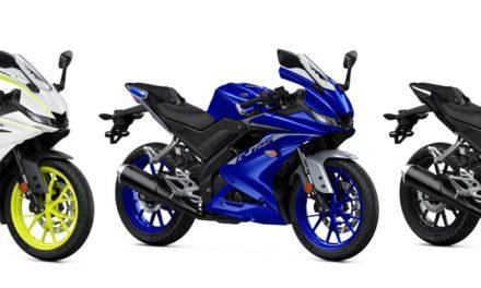 Yamaha YZF-R3 et YZF-R125 : Nouveaux coloris pour 2020