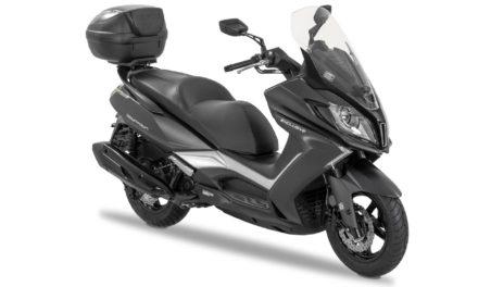 KYMCO : Le Downtown 350i ABS Exclusive se dote d'un nouveau système de contrôle de traction (TCS)