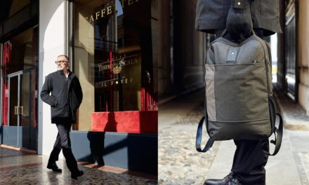 Tucano Urbano: Une veste chic et un sac à dos multifonctions