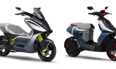 Scooter électrique : Yamaha dévoile le E01 et le E02