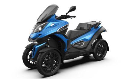 EICMA 2019 : Qooder eQooder : Le scooter quatre-roues passe à l'électrique