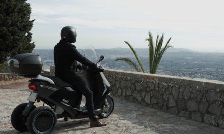 Eccity Model3 : Début de production du scooter électrique trois-roues