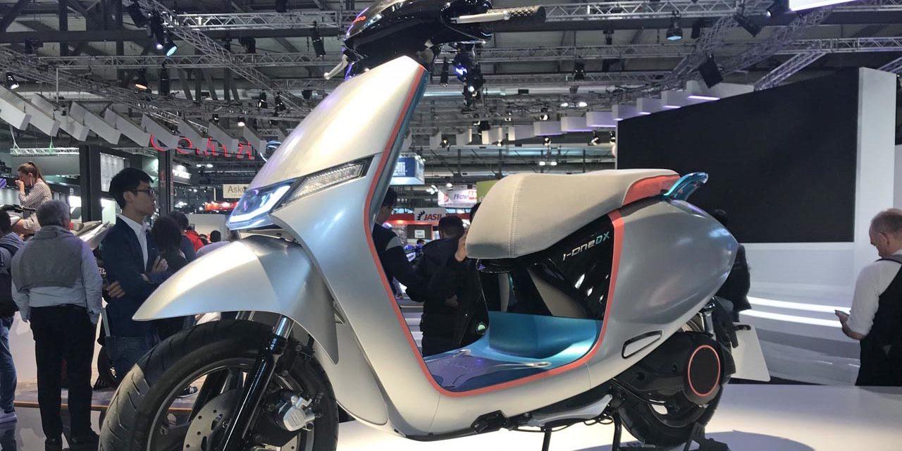 EICMA 2019 : Kymco i-One DX : le nouveau scooter électrique du projet « IONEX »