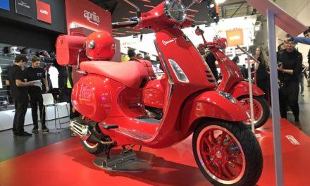 EICMA 2019 : Série spéciale Vespa Primavera 125 (Red)