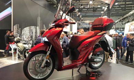 EICMA 2019 : Nouveau Honda SHi 125 2020 : Plus performant et mieux équipé