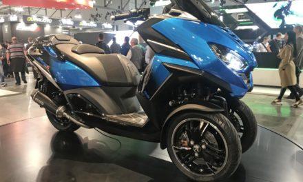 EICMA 2019 : Peugeot Metropolis RS Concept : Le scooter trois-roues nouvelle génération