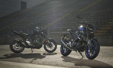 Nouvelles Yamaha MT-125 et MT-03 : Un pack sportif pour plus d'agressivité