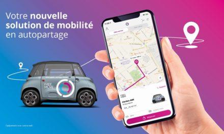 Free2Move : Intégration de la Citroën Ami dans son offre d'autopartage à Paris