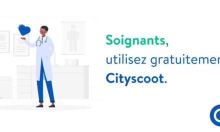 Coronavirus : les scooters électriques Cityscoot gratuit