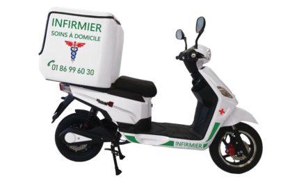 Covid-19 : RedE : Des scooters électriques gratuits destinés aux professionnels de santé