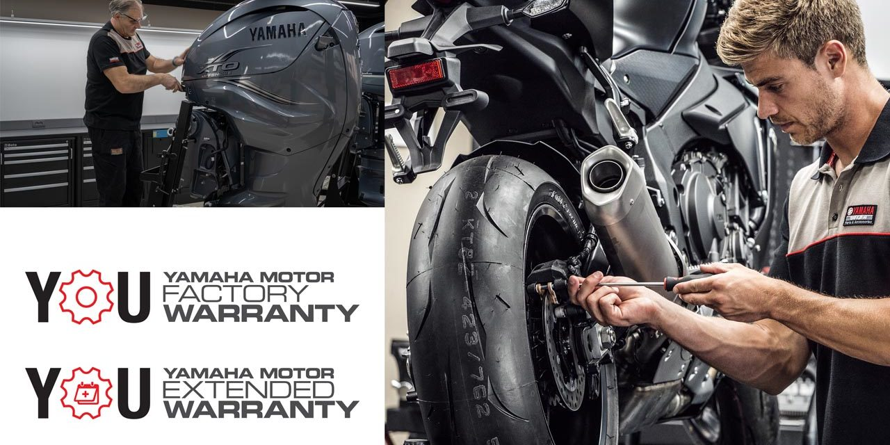 Yamaha Motor Europe : Prolongation de la période de garantie