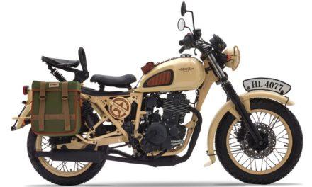 Mash 400 Desert Force : Hommage aux motos de l'armée américaine