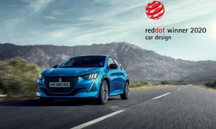 Red Dot Award 2020 : Les Peugeot 208 et 2008 récompensées