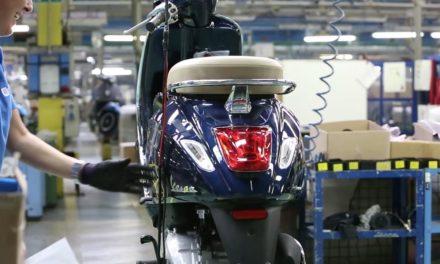 Groupe Piaggio : Redémarrage de l'usine de Pondera