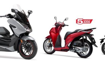 Honda : Garantie et assistance pendant 5 ans