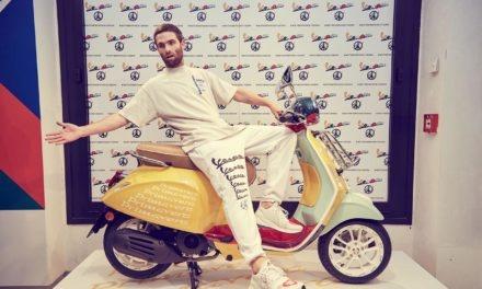 Vespa Primavera Sean Wotherspoon : Le scooter haut en couleur arrive en concession