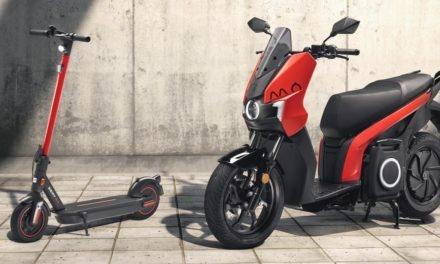 SEAT MÓ : Lancement d'un scooter et d'une trottinette électrique
