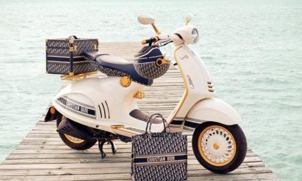 Vespa 946 Christian Dior : Une version haute couture