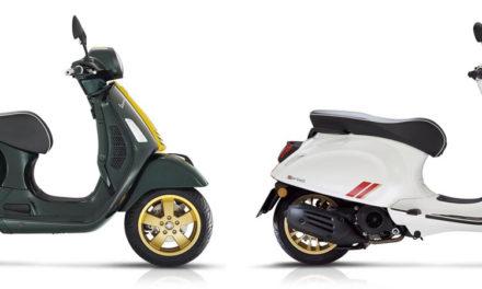 Vespa Racing Sixties : Une série spéciale pour la Vespa Sprint et GTS Super