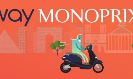 Mobilité Urbaine : Zeway s'associe avec Monoprix
