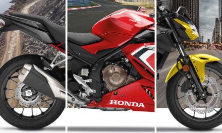 Gamme Honda CB500 2021 : Passage à l'Euro5 et nouveaux coloris