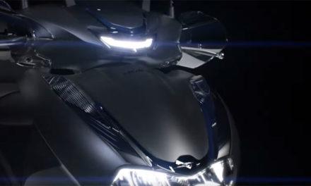 Flash info ! Teaser du nouveau Honda SH350i
