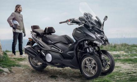 Kymco CV3 : le scooter trois-roues dans sa version définitive