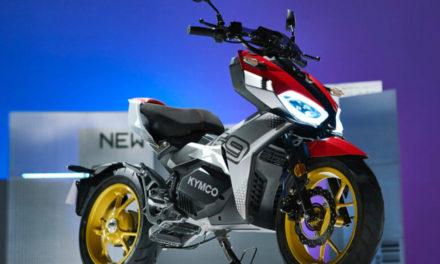 Kymco F9 : Finalement c'est un scooter électrique !