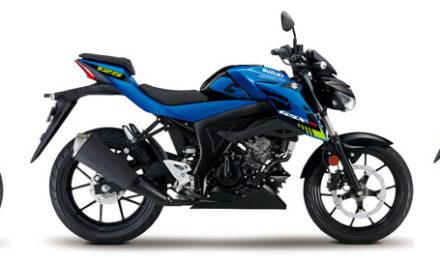 Suzuki GSX-S125 : Nouveaux coloris pour 2021