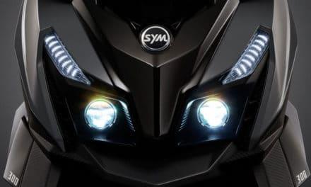 Sym Cruisym Alpha 125 et 300i 2021 : Le scooter sportif de la gamme