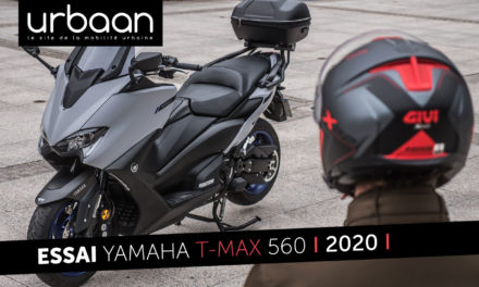 Essai Yamaha T-MAX 560 : Que vaut le Yamaha T-Max en ville ?
