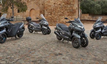 Yamaha Tricity 125 et 300 2021 : La famille au complet