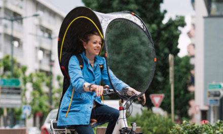 Bub-Up : une bulle de protection pour vélo