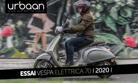 Essai Vespa Elettrica 70 : la cohérence du silence !