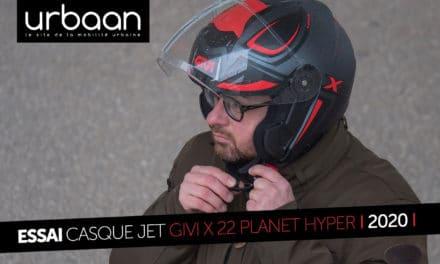 ESSAI GIVI X.22 PLANET HYPER : Un casque Jet bien dans son temps