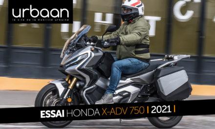 Essai Honda X-ADV 750 2021 : originalité et efficacité optimisées