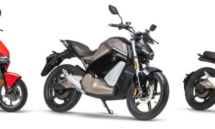 Super Soco : Deux motos et un scooter électriques pour 2021