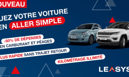 Leasys lance le service « Aller simple »