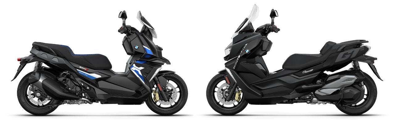 Nouveaux BMW C 400 X et BMW C 400 GT : Quelques changements pour 2021