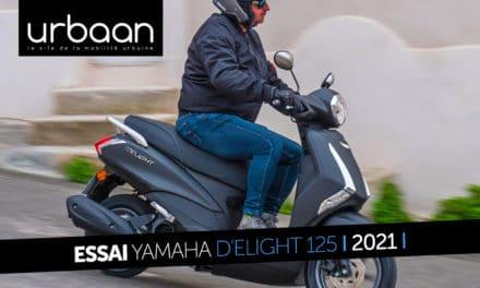 Essai Yamaha D'elight 125 2021 : le citadin virevoltant
