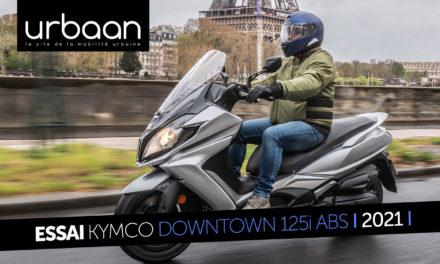 Essai Kymco Downtown 125i ABS 2021 : toujours dans la course