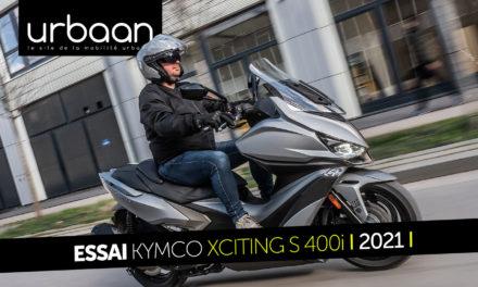 Essai Kymco Xciting S 400i 2021 : Euro 5 et TCS à l'honneur