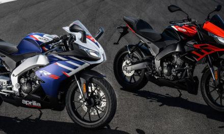 Aprilia Tuono et RS 125 2021 : Petit coup de frais et remise à niveau