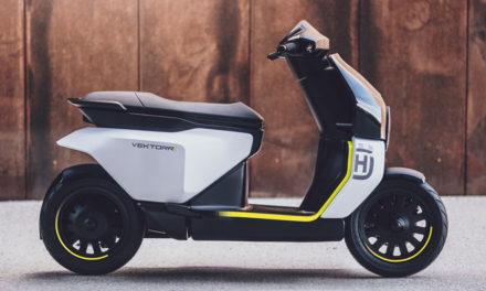Vektorr : Husqvarna présente son nouveau concept de scooter électrique